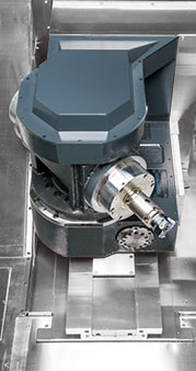 TOOL SPINDLE TYPE 5-AXIS TURNING CENTERS